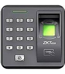 reloj biométrico lector huella control de acceso zkteco x7
