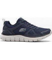 sneaker skechers con memory foam (blu) - skechers