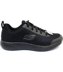 zapatillas para hombre skechers dina-lite 52531/bbk - negro