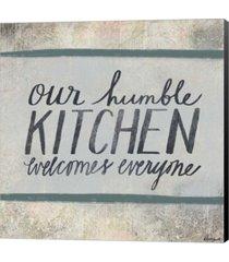 humble kitchen by katie doucette canvas art