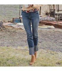 hailee americano cuffed jeans