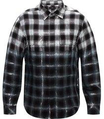 lurex-bijgesneden overhemd