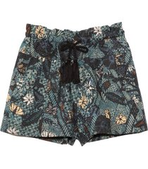 andres shorts in rainforest