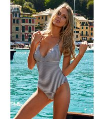 melissa odabash catalina swimsuit nautical navy