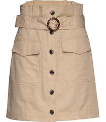 paperbag utility skirt kort kjol beige banana republic
