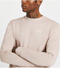 river island mens stone slim fit sweatshirt