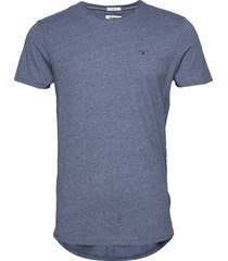 tjm essential jaspe tee t-shirts short-sleeved blå tommy jeans