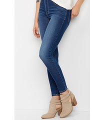 everflex high rise medium stretch skinny jeans