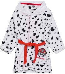 bedroom dress morgonrock badrock vit paw patrol