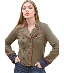 chaqueta principito verde militar racaventura