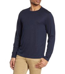 men's nordstrom men's shop long sleeve t-shirt, size 3xl - blue