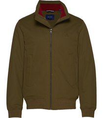 d1. the hampshire jacket dun jack groen gant
