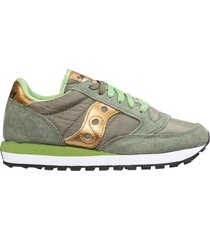 scarpe sneakers donna camoscio jazz o