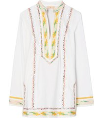 ribbon embellished tunic