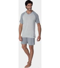 pijama masculino de viscose premium mash - masculino