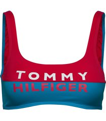 bralette lingerie bras & tops bra without wire multi/mönstrad tommy hilfiger