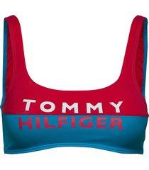 bralette lingerie bras & tops soft bras multi/mönstrad tommy hilfiger
