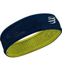 faixa de cabeã§a fina on/off (thin headband) azul/limo - azul - dafiti