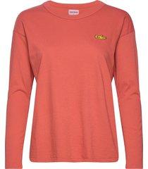 lost thing recollector long sleeve t-shirt t-shirts & tops long-sleeved rood bobo choses