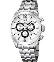reloj acamar plateado jaguar