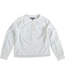 tommy hilfiger snow white blouse