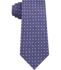 calvin klein men's carbon skinny square neat tie