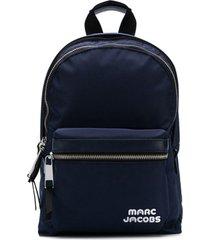 marc jacobs mochila 'trek' de couro - azul