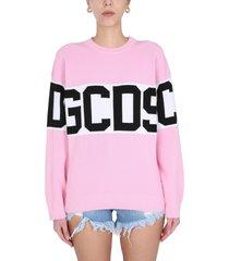 gcds crew neck pullover