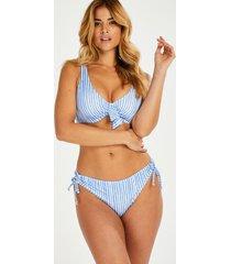 hunkemöller julia rio bikini-underdel blå