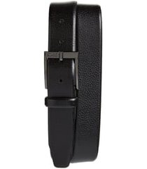 men's boss elloy leather belt