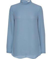 macy top blouse lange mouwen blauw filippa k
