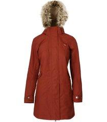 abrigo mujer aranesa terracota doite