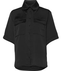 alona kortärmad skjorta svart stella nova
