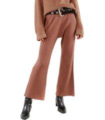 pantalon ariel marron caro criado