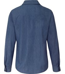 blouse van peter hahn denim