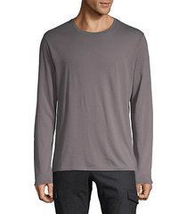 classic long-sleeve cotton tee