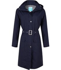 happyrainydays regenjas long coat madonna midnight-xs
