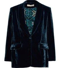 giselle suit jacket blazers casual blazers blå odd molly