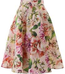 dolce & gabbana midi full skirt