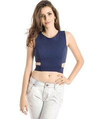 top cropped com recortes alphorria a.cult