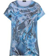 shirt m. collection blauw