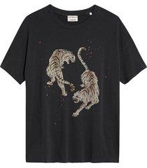 t-shirt tigre donkergrijs