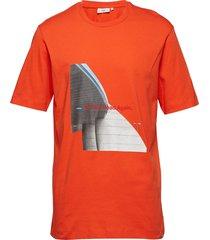 asker t-shirts short-sleeved orange minimum