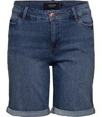 jrfive sl meenu mb shorts - k mh shorts denim shorts blå junarose