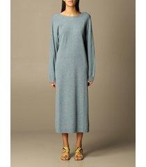 remain dress remain long dress in merino wool