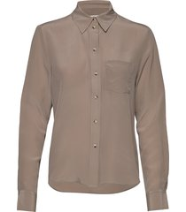 celosa blouse lange mouwen beige tiger of sweden