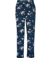 pantaloni chino ampi in viscosa (blu) - bpc bonprix collection