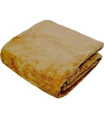 cobertor manta blanket curry king  - toque de seda kacyumara - amarelo - dafiti