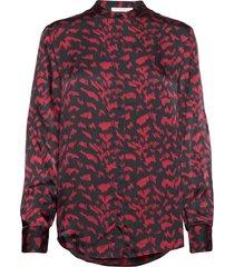 c_befelize_18 blouse lange mouwen rood boss