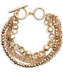 women's halogen beaded layered bracelet